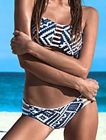 Due Pezzi-Nuoto / Spiaggia-Per donna-Traspirante / Traspirabilitàalta(>15001g) / Permeabile all'umidità / Asciugatura rapida /