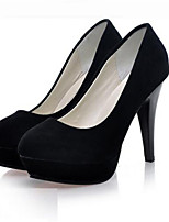 Women's Shoes Synthetic Stiletto Heel Heels Heels Wedding Black / Pink