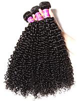 6a des brasilianischen reinen Haares verworrene lockige reine Menschenhaar nicht verarbeitete reine Menschenhaar lockigen Wellen freies