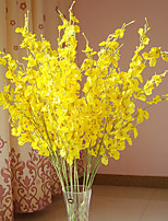 Silk Oncidium Artificial Flowers Multicolor Optional 1pc/set