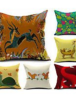 2016 New Arrival  Cotton/Linen Pillow Cover , Nature Modern/Contemporary  Pillow Linen Cushion985-990