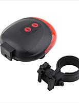 Cycling Bicycle Bike Light 7 Flash Mode Safety Rear Lamp waterproof Laser Tail Warning Lamp Flashing 5 LED 2 Laser