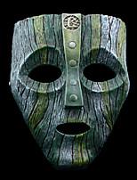 -Chi Ch-Grün / Grau-Harz-Maske