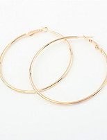 Good Quality NEW 2016 Classic Exaggerated Big Circle Hoop Earrings For Women Statement Jewelry