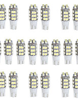T10 W5W 168 194 White Turn Signal Light 28 SMD LED Light(DC12V,20Pcs)