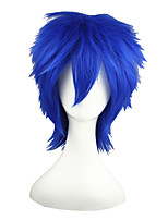 VOCALOID-kaito Blue 14inch Anime Cosplay Wig CS-011A