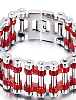 Factory Direct Selling High Quality Men's Stainless Steel Bicycle Chain Bracelet