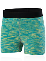 Running Shorts Women's Breathable / Quick Dry Yoga / Running Sports Green / Red / Black / Blue / Purple