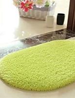 Hot Sale Super Soft Cotton Material Non-Slip Ellipse Mat W16