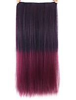 Straight Pink Colorful Human Hair Lace Wigs 1T118