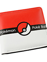 Pokemon Others Red PU Leather wallets