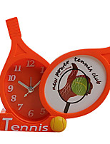 Cute Shape Novelty Mute Plastic Alarm Clock (Random Color)