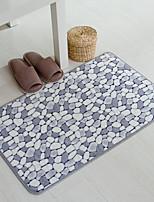 Casual Style Coral Velvet Material Non-Slip Mat W16