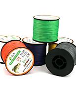 500 Meters Dyneema Braided Fishing Line PE Line 4 Encoding 6-color Multi-standard Anti-Bite Fishing Line Kite Line