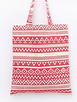 Women-Casual / Shopping-Canvas-Shoulder Bag-Blue / Brown / Red / Black
