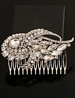 Women's Rhinestone / Crystal / Alloy Headpiece-Wedding / Special Occasion Hair Combs 1 Piece