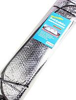 papel de aluminio 140 * 70cm sombrillas parabrisas