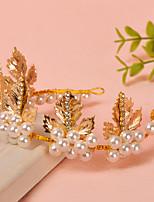 Femme Strass / Imitation de perle Casque-Mariage / Occasion spéciale Serre-tête 1 Pièce