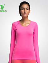 Running Tops / T-shirt Women's Quick Dry / Compression / Lightweight Materials / Sweat-wicking Running Sports Sports Wear Others
