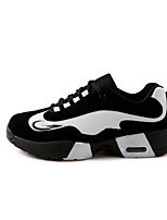 Men's Shoes Casual Fleece Fashion Sneakers Black / Black and White