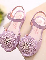 Girls' Shoes Dress / Casual Open Toe Sandals Blue / Pink / Purple