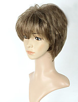 Sliver Full Wig for Women Cheap Wigs Short Curly Synthetic False Hair Short Natural Women's Wigs