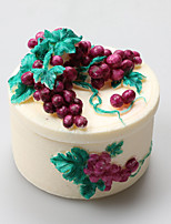 Grape Soft Clay Resin Box Silicone Fondant Cake  Jewelry Box Chocolate Silicone Molds,Decoration Tools Bakeware