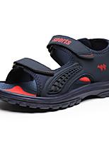 Zapatos de Hombre-Sandalias-Casual-Sintético-Azul / Gris