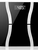 lincass Bluetooth gordura wireless balança de precisão digital de escala do corpo inteligente com plataforma de vidro temperado para