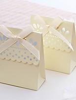 Boîtes à cadeaux / Sacoches à cadeaux / Boîtes Cadeaux / Emballages à Biscuits(Ivoire,Papier durci)Thème plage / Thème jardin / Thème