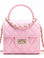 Women-Casual / Outdoor-PU-Shoulder Bag-Beige / Pink / Purple / Blue / Black / Fuchsia