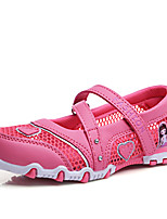 Girls' Shoes Dress / Casual Tulle Loafers Spring / Summer / Fall / Winter Gladiator Hook & Loop Pink / Peach