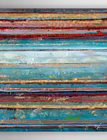 Hand Painted Oil Painting Abstract Color Layers with Stretched Frame 7 Wall Arts®