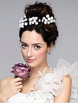 Dame Stof Medaljon-Bryllup / Speciel Lejlighed Blomster / Hair Stick 1 Stykke