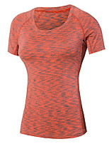 Women's Running T-shirt Running Quick Dry / Wicking Green / Red / Black / Blue / Purple Others Sports Wear