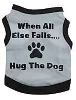 Katzen / Hunde T-shirt Grün / Blau / Rosa / Grau Sommer / Frühling/Herbst Blumen / Pflanzen Modisch, Dog Clothes / Dog Clothing-Pething®