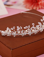 Serre-tête Casque Mariage / Occasion spéciale / Casual / Outdoor Perle / Cristal Femme / Jeune bouquetièreMariage / Occasion spéciale /