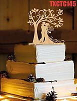 Kakepynt Ikke-personalisert Klassisk Par Harpiks