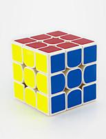 Cubes Magiques IQ Cube Yongjun Trois couches Vitesse / Niveau professionnel Cube de vitesse lisse Magic Cube Puzzle Arc-en-ciel ABS