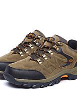 Men's Shoes Outdoor Fleece Fashion Sneakers Brown / Green / Gray