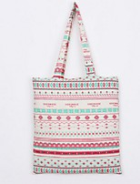 Women-Casual / Shopping-Canvas-Shoulder Bag-Red