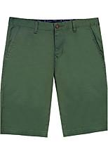 Lesmart Men's Shorts Pants Black / Yellow / Green / Purple / Orange / Khaki-SK16303