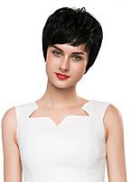 la moda glamorosa centros de pelo virgen tejida a mano peluca 15 tipos de elección del color