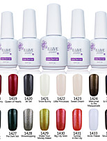 ILuve Nail Polish For Nail Art UV Gel Odorless Long Lasting Soak Off 15ml/per Bottle  238 Color Choices GLA1418-1434