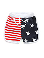 Hot Sale 2016 Child Clothing Baby Boy Girl Shorts Five-Pointed Star Colours Casual Summer Korean Kids Wear
