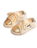 Boys' Shoes Athletic / Casual Leatherette Fashion Sneakers Silver / Gold