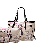 Women PU Casual / Event/Party / Office & Career / Shopping Shoulder Bag