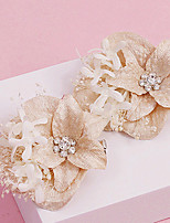 Women's Rhinestone / Fabric Headpiece-Wedding / Special Occasion / Casual / Outdoor Flowers 1 Piece