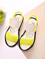 Girls' Shoes Casual Comfort PU Sandals Yellow