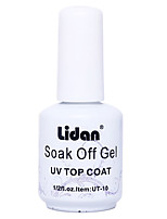 LIDAN Removable Bottom Rubber  15ML Nail Polish for 2 Years